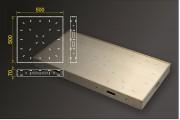 Segmentbau 500x500 mm