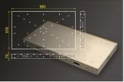 Segmentbau 576x960 mm