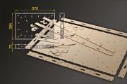 Bausatz: Segmentbau 384x576 mm