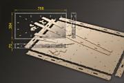 Bausatz: Segmentbau 384x768 mm