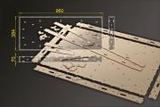 Bausatz: Segmentbau 384x960 mm