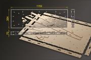Bausatz: Segmentbau 384x1152 mm