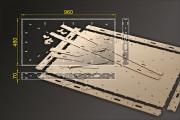 Bausatz: Segmentbau 480x960 mm