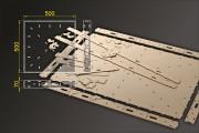 Bausatz: Segmentbau 500x500 mm