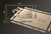 Bausatz: Segmentbau 500x1000 mm