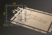 Bausatz: Segmentbau 576x576 mm