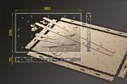 Bausatz: Segmentbau 576x960 mm