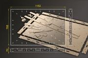 Bausatz: Segmentbau 768x1152 mm