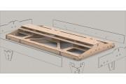 Bausatz: Ger. Fremo Modul H0, 546x1000 mm, 2-gl.